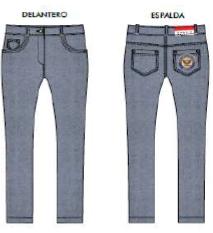 Pantalón Tejano Stretch